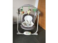 Musical Chicco Baby swing seat