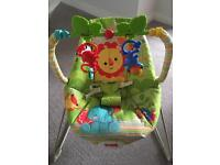Fisher Price Rainforest vibrating bouncer chair