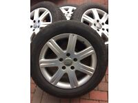 """Audi Q7 Winter Wheels & Tyres With 18"""" Alloys"""