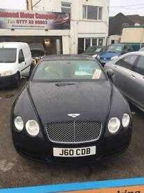 BENTLEY CONTINENT GT 6.0 W12 2 DOOR COUPE