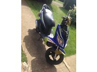 50cc boatian moped 2011 plate