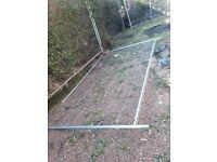 Metal fencing free