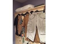 Gents Shorts (SUPERDRY & JACK JONES), Shirt & T-Shirt (5 Pieces & Price Is For All)