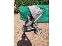 Mothercare Genie pushchair and pram travel system