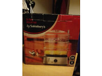 3-tier Steamer by Sainsbury's