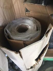 Roll of bithuthene waterproof tanking membrane