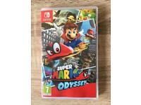 Super Mario Odyssey Nintendo Switch *Mint Condition*