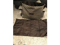 Gucci baby changing bag