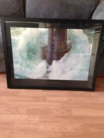 Lighthouse Print in frame