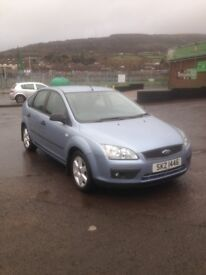 Ford Focus 1.8 sport diesel long mot immaculate condition