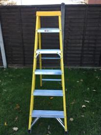 6 tread fibreglass steps