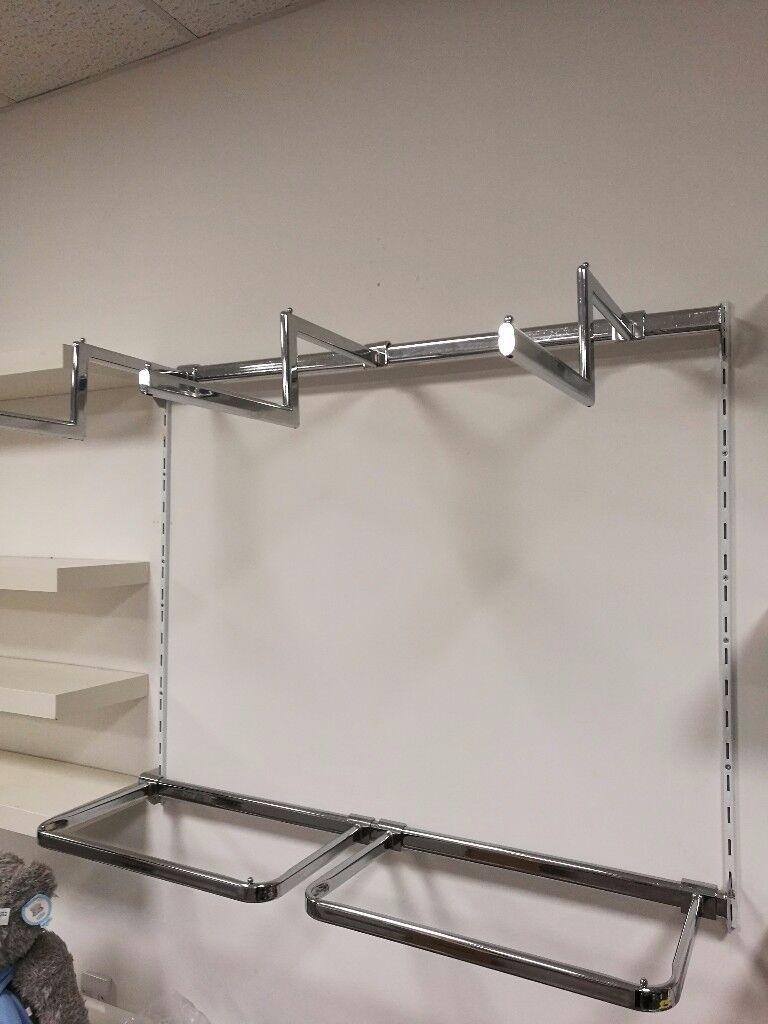 Shop fittings - railings