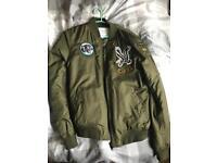 bomber jacket medium