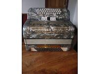 Frontalini 3 row button box accordion