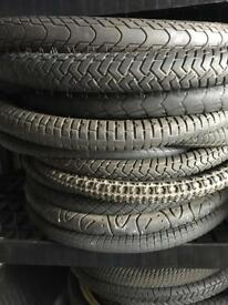 "BARGAIN. VARIOUS 20"" BMX BIKE TYRES FROM £2 each"