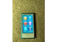 Apple iPod Nano 16gb 7th Gen BLUE