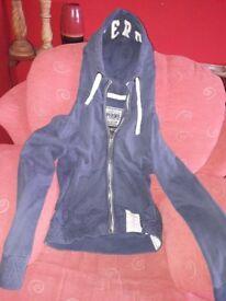 Superdry zipped hoodie (unisex)