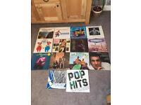 Job lot 136 vinyl Lp's
