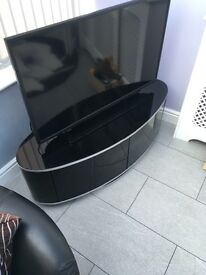 Black High Gloss Tv Stand