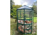 NO LONGER AVAILABLE Octagonal Greenhouse - FREE for collection