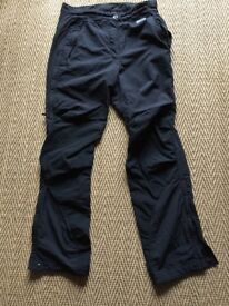 TECHNICAL WALKING TROUSERS BY MONTANE - WITH DWR - SIZE 8
