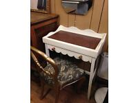 Handy console/hall table/Desk,Telephone table.Upcycled
