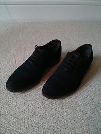 Massimo Dutti shoes blue leather size 40