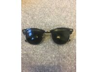 Genuine Ray Ban clubmaster