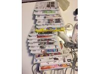 wii console loads games controls loads extra £55 ono