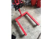 heavy duty transmission, engine, gearbox mount support stand 1250 lbs 570kg