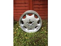 Mercedes 8 hole alloy wheels