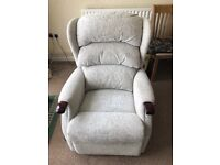 HSL Rise and Recline chair with 2 seater bed settee