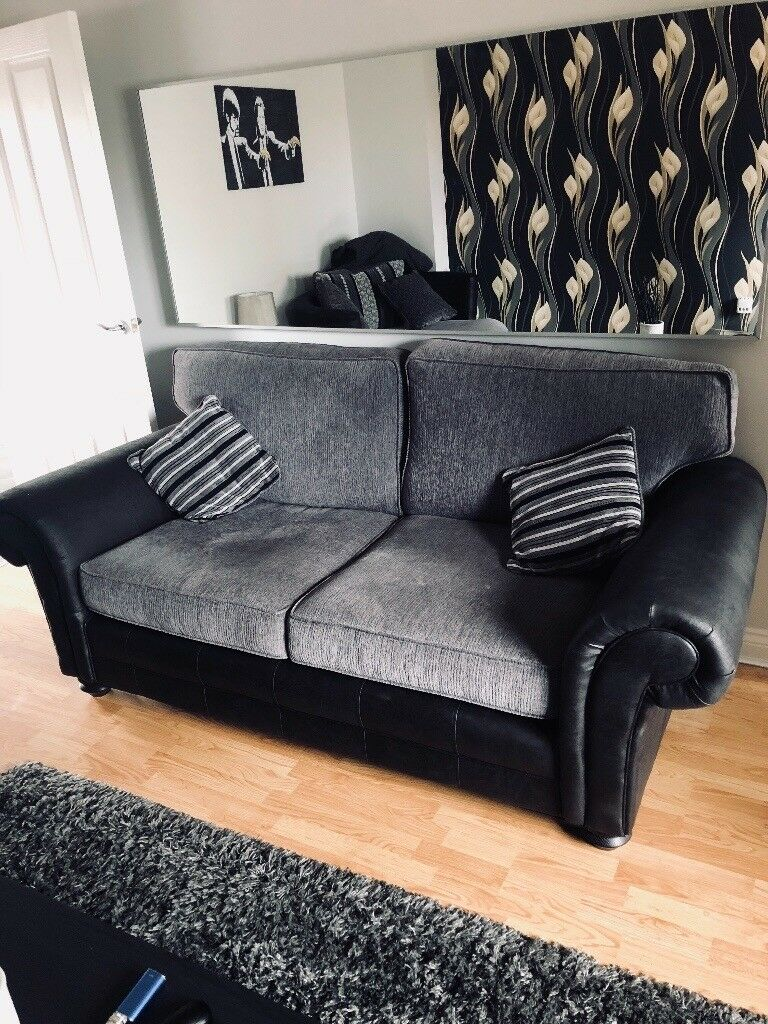 Scs 3 Seater Milan Style Sofa And Large Swivel Chair
