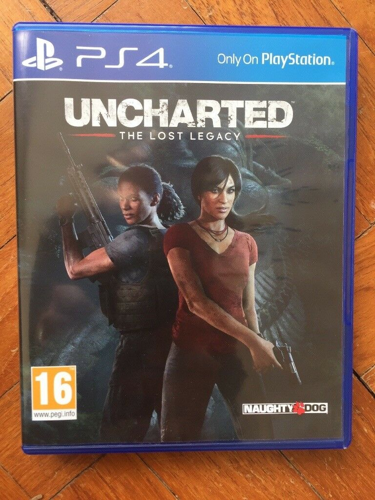 Uncharted the lost legacy and unused dlc