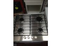 stainless steel electrolux gas hob