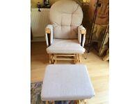 Rocking chair & stool