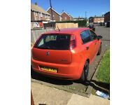 Fiat grande punto, great first car, low Insurance!