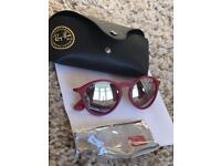 Ray-Ban Round Red sunglasses