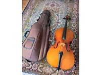 Beautiful cello 3/4 size with case