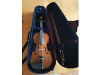 Stentor Student II 1/2 size violin with bow and case