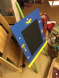 Kids art drawing board / chalk board