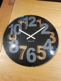 Karlsson 'Missing Numbers' Dome Clock