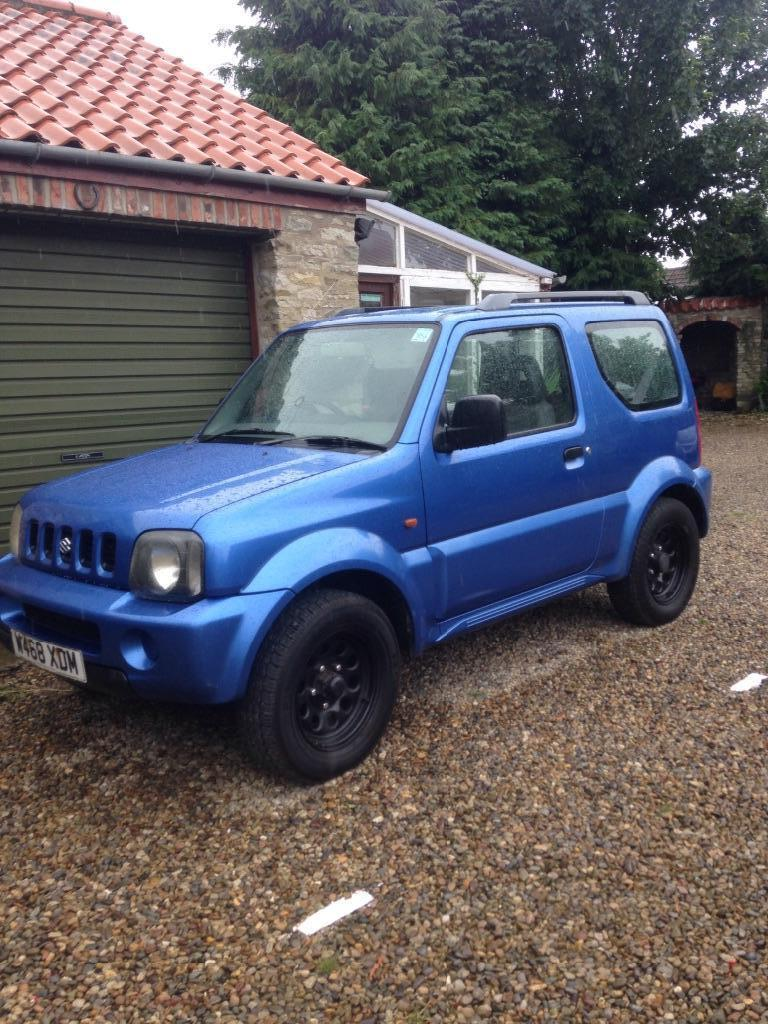 2000 suzuki jimny jlx blue 4x4 1 3 petrol in pickering north yorkshire gumtree. Black Bedroom Furniture Sets. Home Design Ideas