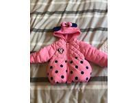 6/9 months girls jackets