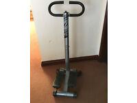 Leg exercise stepper