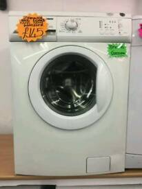ZANUSSI 8KG 1200 SPIN WASHING MACHINE IN WHITE