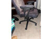 Ergonomic office chair.