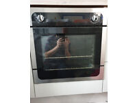 Oven - single, built-in, nearly new