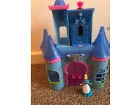 Rare Magiclip Mattel Cinderella castle bundle set