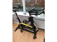 Home spin bike immaculate condition